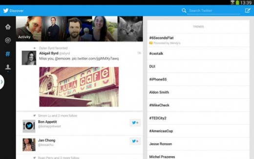 android tab 1 520x325 7 big, recent Twitter changes you should know about to optimize your tweeting