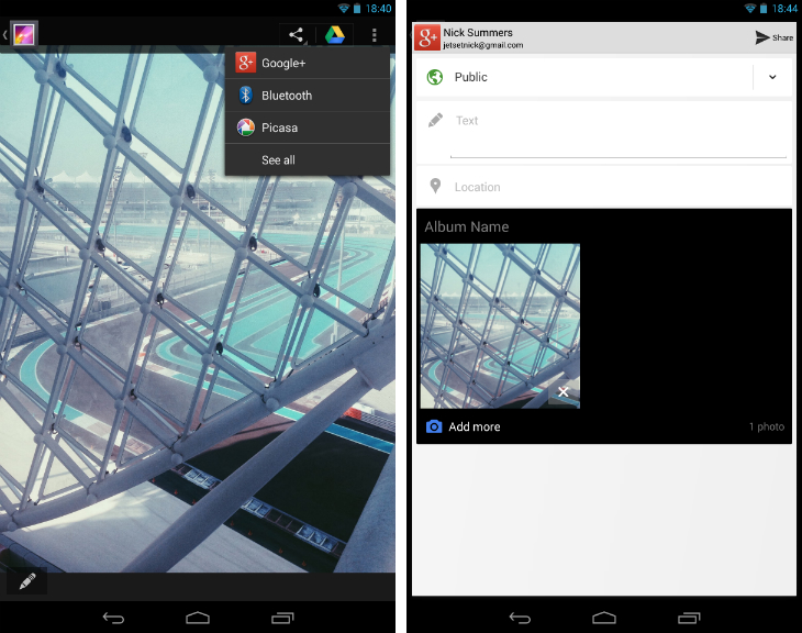 androidupload3 An in depth guide to Google+ for photographers: Storage, editing, sharing and more