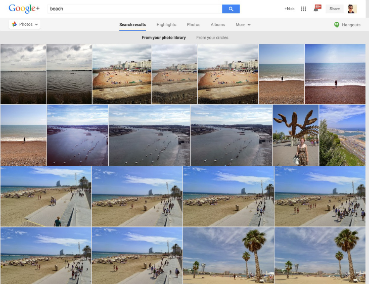 beach An in depth guide to Google+ for photographers: Storage, editing, sharing and more