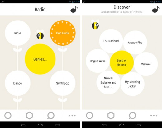 bloomfm1 520x412 17 mobile apps to help you discover new music