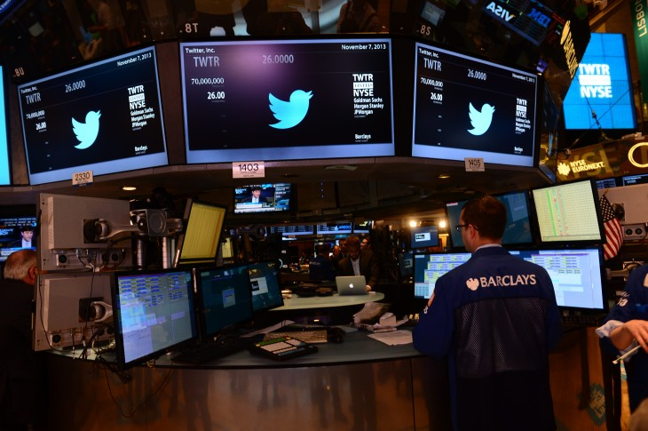 croppedtwitter3 730x485 In pictures: Twitter kicks off its IPO on the New York Stock Exchange