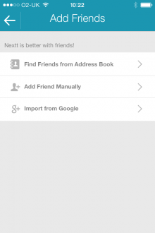 f2 220x330 Nextt: A private social network for making plans with friends