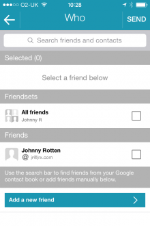 g2 220x330 Nextt: A private social network for making plans with friends