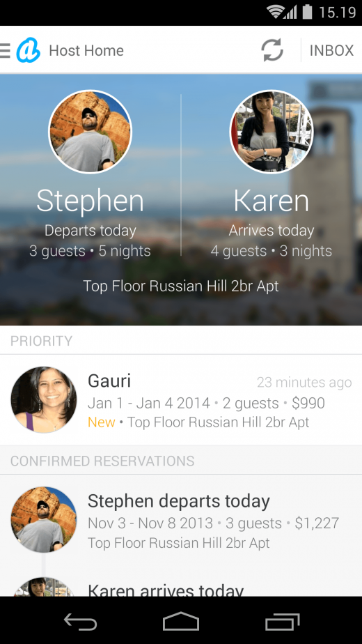 host home 520x924 Now in 34k cities, Airbnb unveils redesigned iOS and Android apps that show how to be a better host