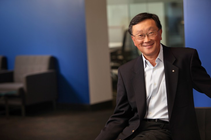 BlackBerry CEO John Chen declares firm is not dwelling on the past and has financial strength for the long haul
