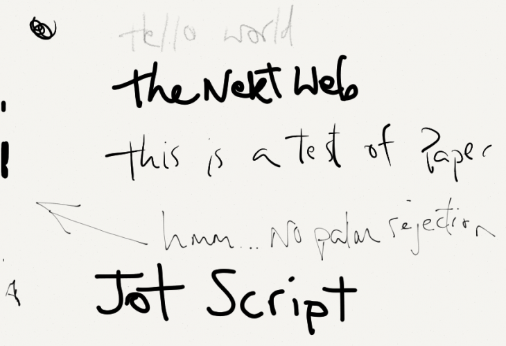 jotscript paper 730x499 Hands on with Adonit's Jot Script Evernote Edition stylus