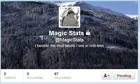 magicstats Twitter appears to be experimenting with predicting viral tweets