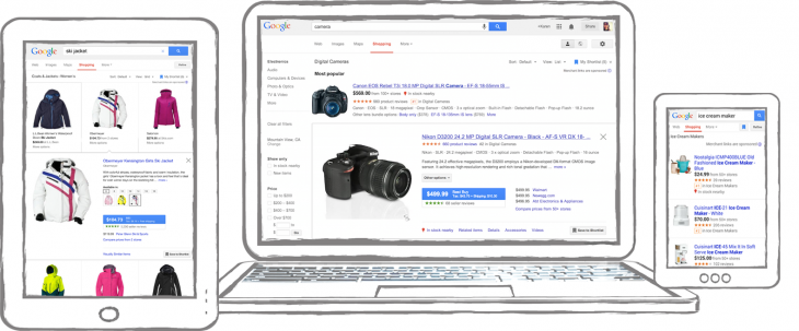 multiplesv2 730x303 Google Shopping gets item previews, visually similar results, shortlists, and 360 degree images