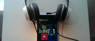 nokia mixradio hand on