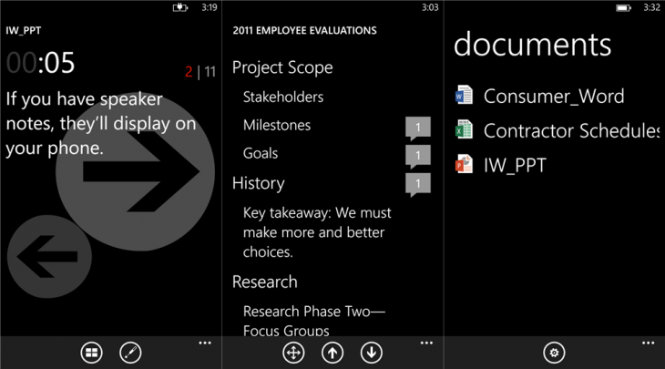 office remote 730x405 Microsoft launches Office Remote, a Windows Phone app to control Word, Excel, and PowerPoint documents on your PC
