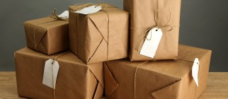 parcel delivery package