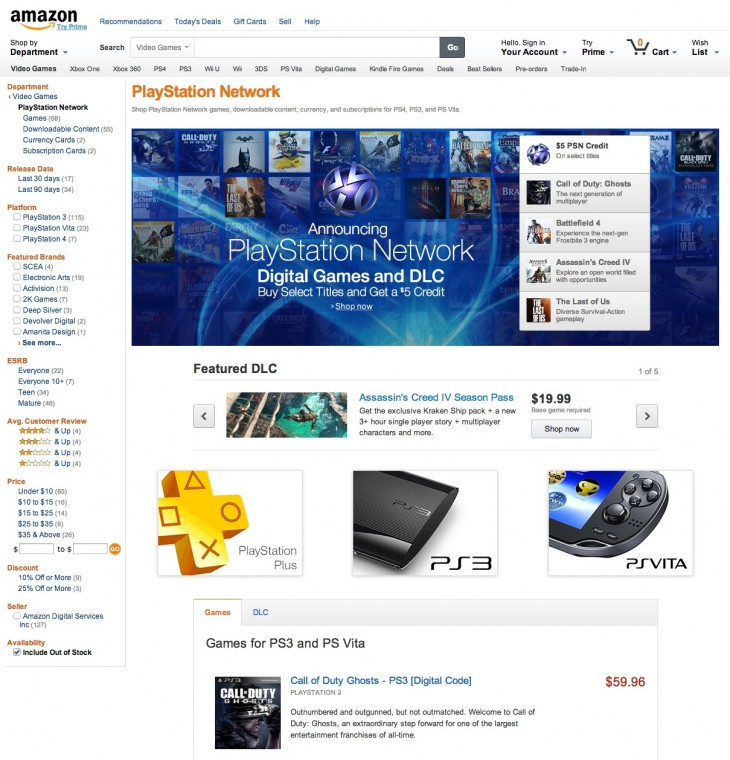 resource1 730x760 Amazon PlayStation Network Store: A new place to buy digital content for your PS4, PS3 and PS Vita