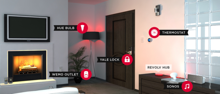 revolv demosetup 730x312 Revolv review: An affordable smart home hub with one app to rule them all