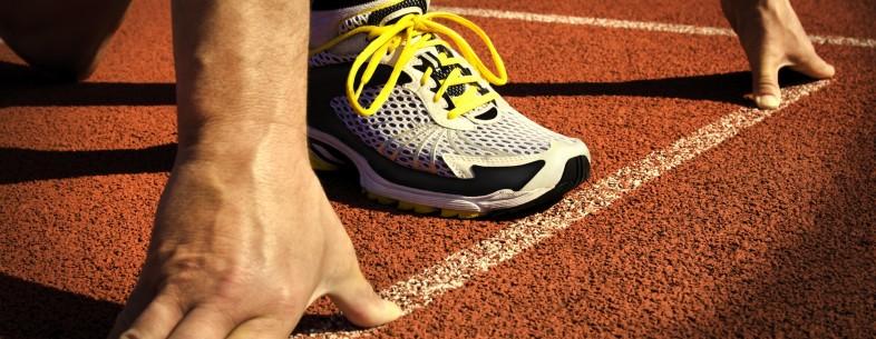 starting line sprint