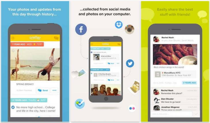 timehop 730x428 Timehop adds friend messaging to its iOS app