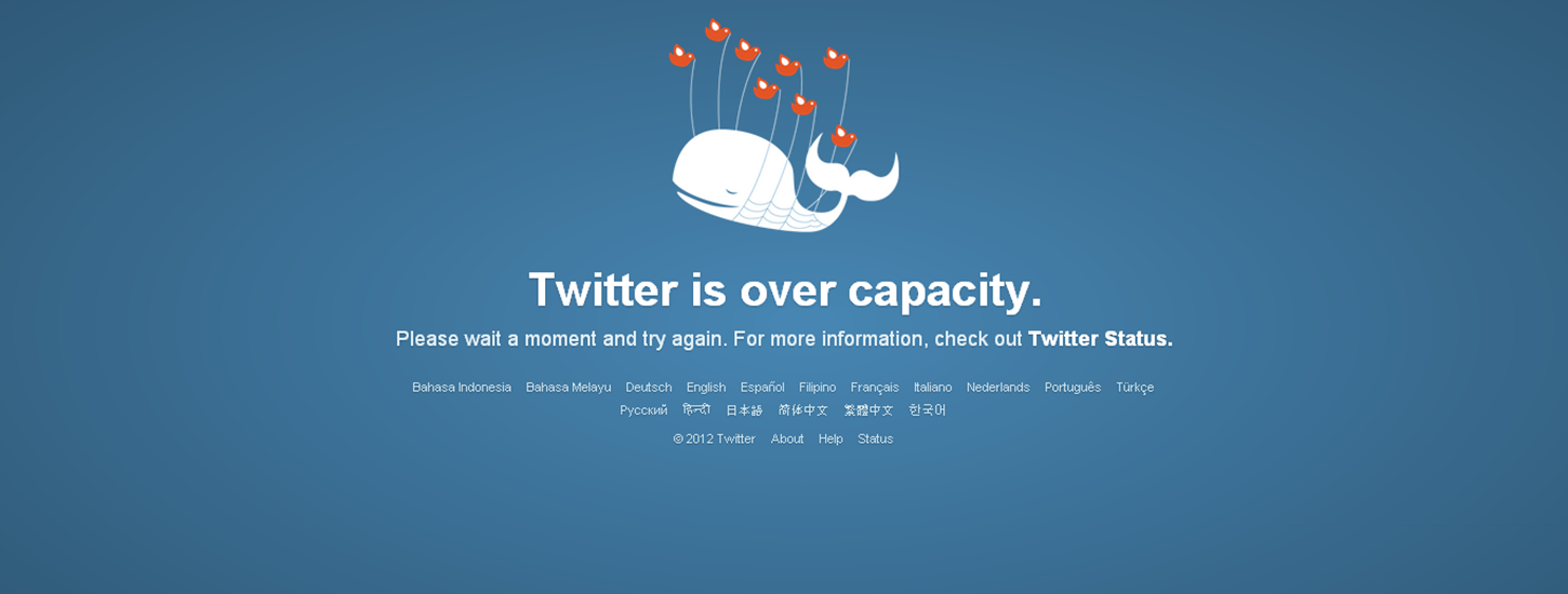 RIP Fail Whale: Twitter's iconic error image bites the dust