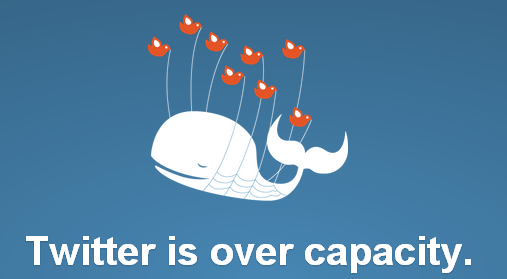 twitter fail whale1 RIP Fail Whale: Twitters iconic error image bites the dust