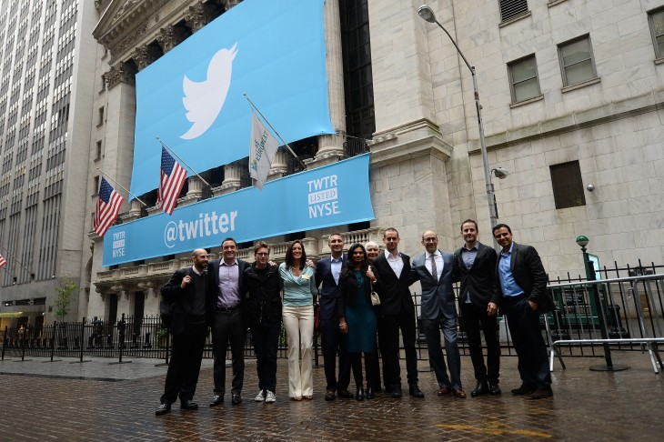 twittercropped5 730x486 In pictures: Twitter kicks off its IPO on the New York Stock Exchange