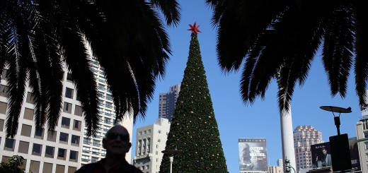 San Francisco Embraces The Holiday Spirit