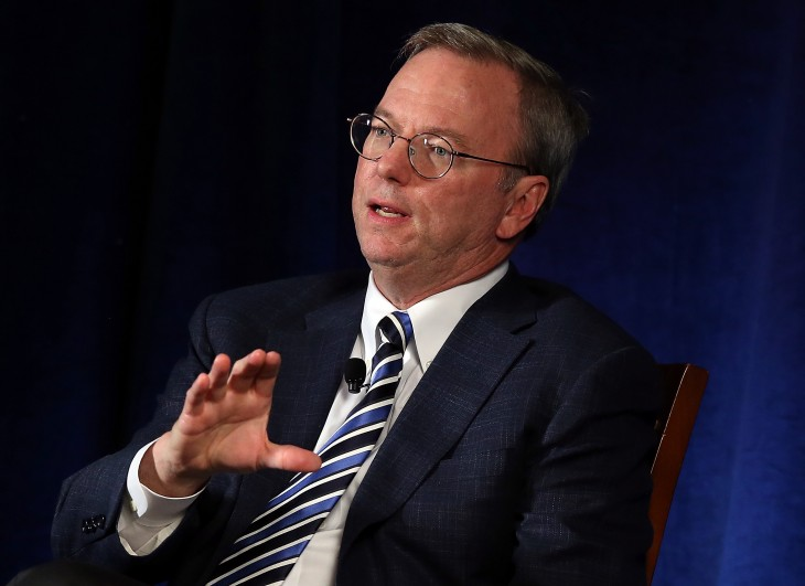 Google's Executive Chairman Eric Schmidt Speaks At San Francisco's Commonwealth Club