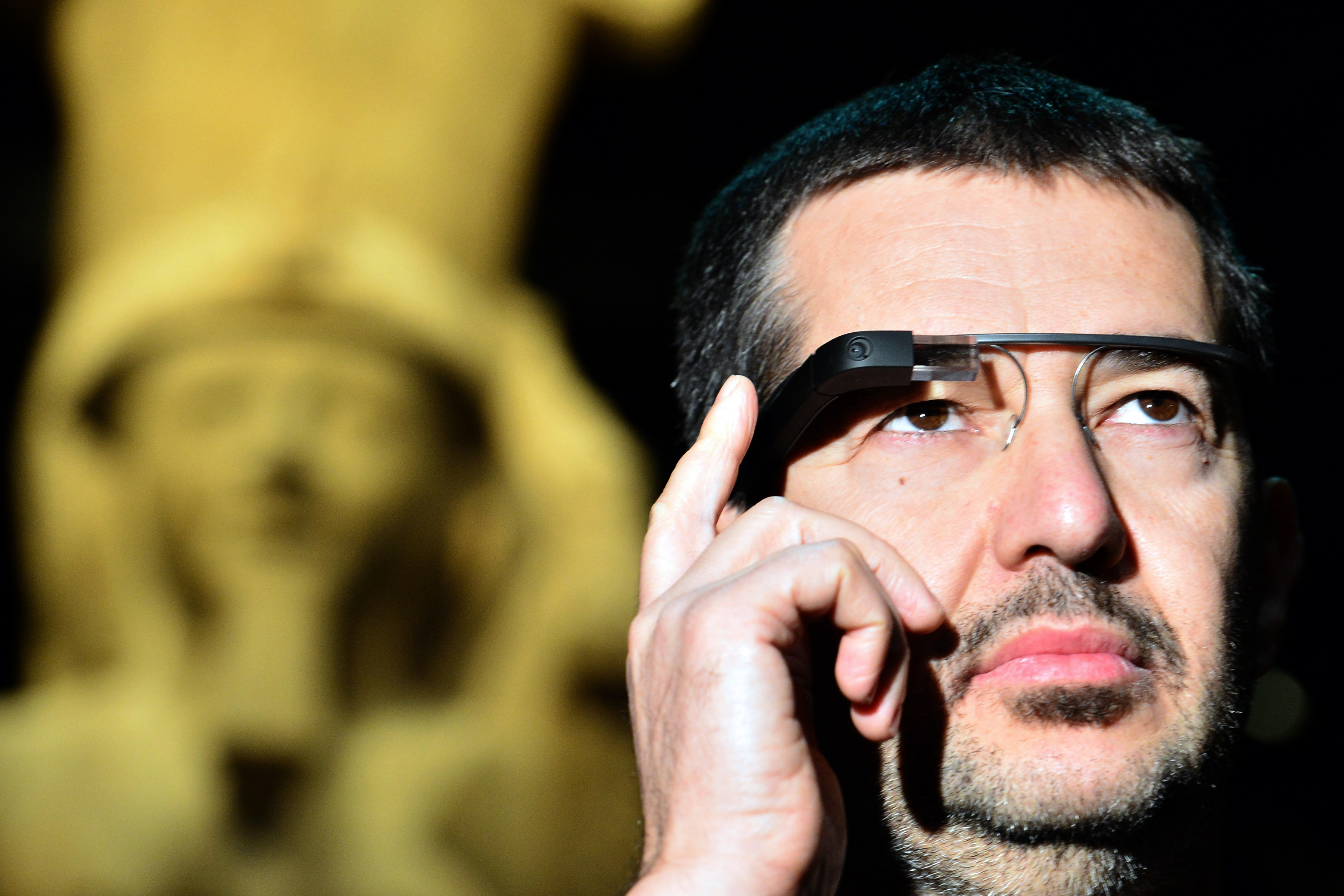 ITALY-EGYPT-MUSEUM-TECHNOLOGY-GOOGLE-GLASS
