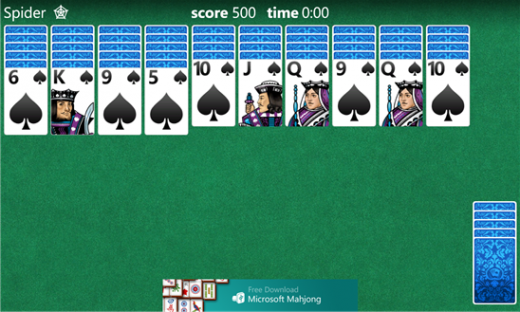 1bf0351c 2cae 422d bac4 e31a78c942eb 520x312 Microsoft brings the classics back as solitaire, mahjong, and minesweeper launch on Windows Phone