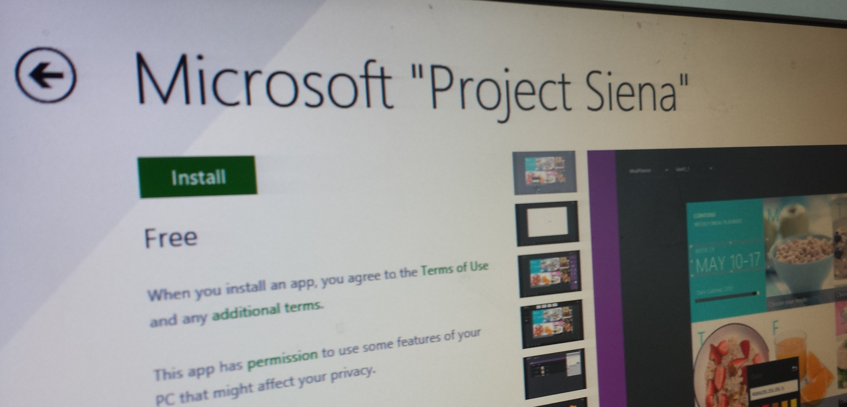 Microsoft Project Siena: An app for anyone to create Windows 8.1 apps, no coding required