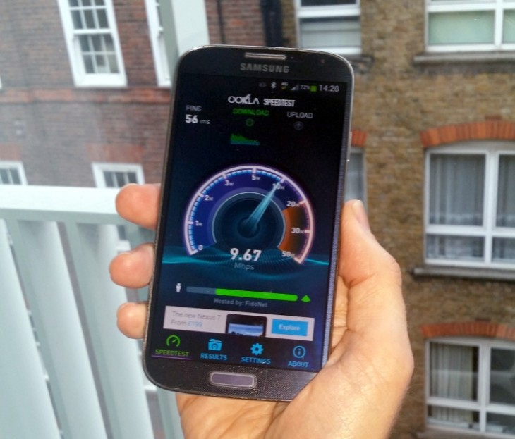 3 4G test 730x623 Unlimited 4G data and warnings of a capacity crunch arent scary, says Three UKs head of network