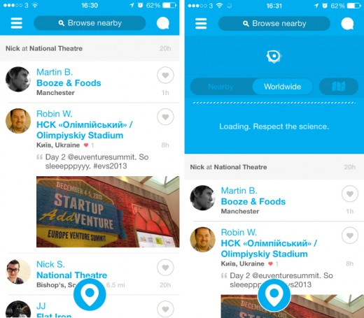 4sq1 520x455 20 social apps that got us talking in 2013