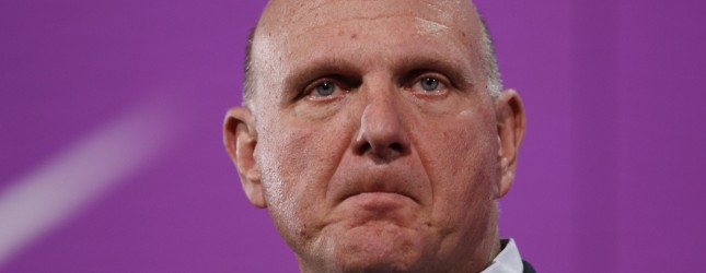Ballmer Microsofts 2013 in review: A year of convergence and integration