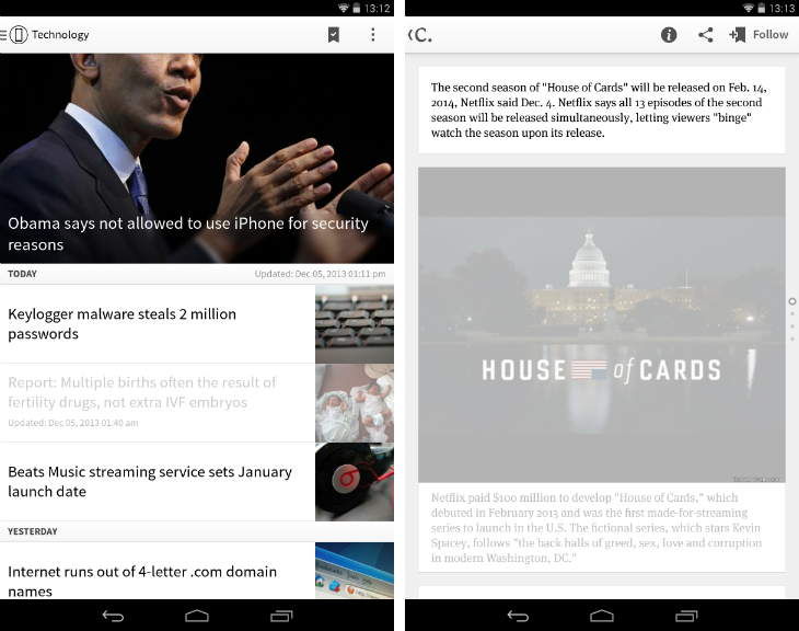 Circa1 10 must have Android apps for keeping on top of the news