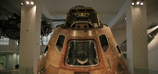 Close up of Apollo 10 Command Module in the Making the Modern World gallery 520x245 Venture on a voyage of technological discovery with the London Science Museums new iPad app