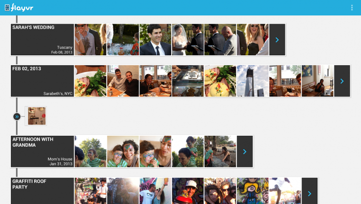 FLAYVR 730x413 Flayvrs photo gallery app for Android gets private sharing, shared timeline and Daydream support