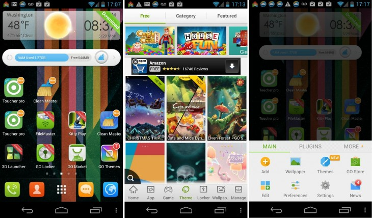 GO Launcher EX 730x428 11 of the best Android launchers and home screen replacements you can download today