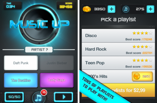 MusicUp1 520x342 14 of the best Android apps released in December