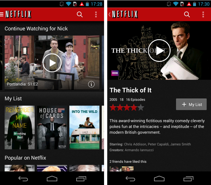 Netflix1 So you've just got an Android device? Download these apps first
