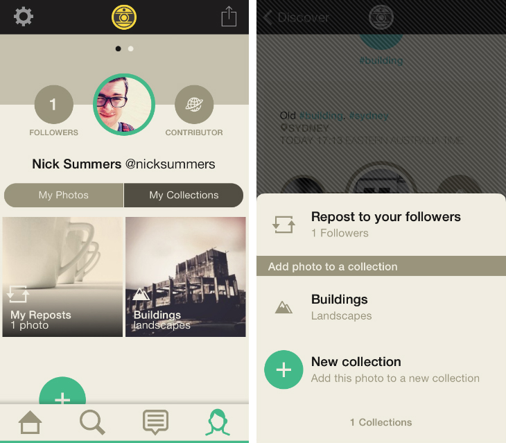 Hipstamatic's Oggl for iOS app gets an Instagram feed, Pinterest-style Collections and Discovery tab
