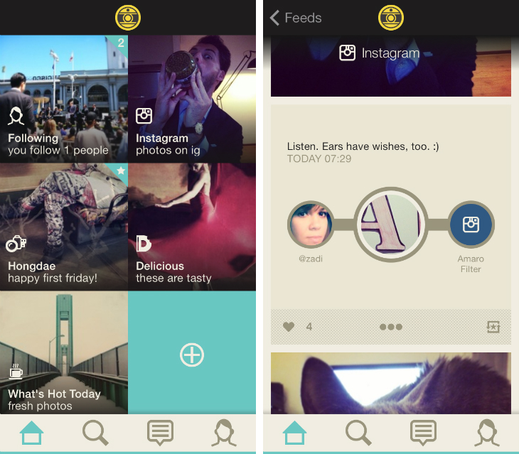 Oggl2 Hipstamatics Oggl for iOS app gets an Instagram feed, Pinterest style Collections and Discovery tab