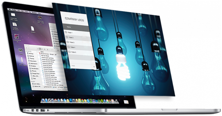 Pinstriped 730x383 Pinstriped cleans up your Mac and hides embarrassing files to help you give a killer presentation
