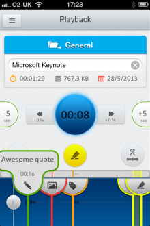 Recordium 89 of the best iOS apps launched in 2013