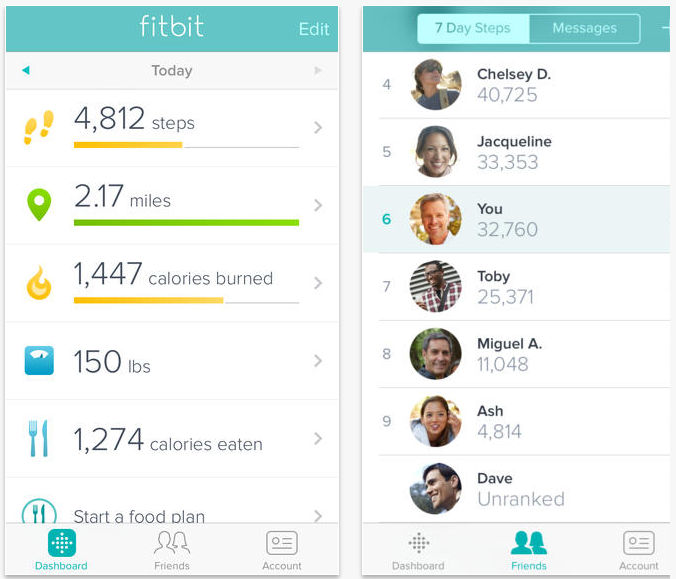 Screen Shot 2013 12 30 at 2.17.53 PM Fitbits latest iOS app update will monitor your fitness activity using your iPhone 5s