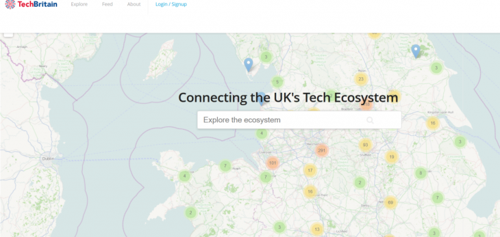 Screenshot 12 730x347 TechBritain unveils a revamped interactive map of the UK startup scene