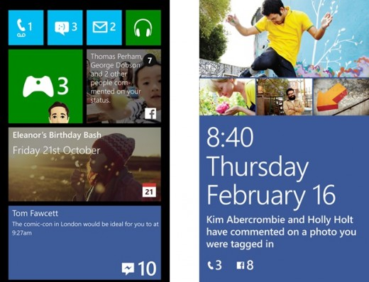 Start thumb 44AD0845 horz 520x398 Facebook for Windows Phone gains start screen notifications and secondary live tiles