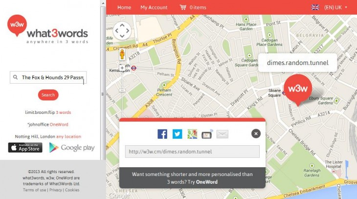What3Words 89 of the best iOS apps launched in 2013