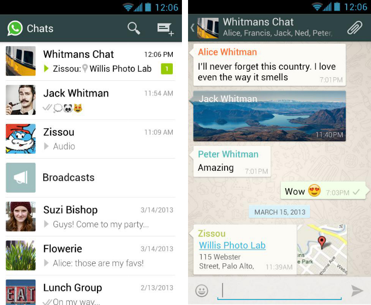 Whatsapp Facebooks two pronged mobile messaging app strategy