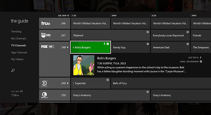 XboxOneTV Microsofts 2013 in review: A year of convergence and integration