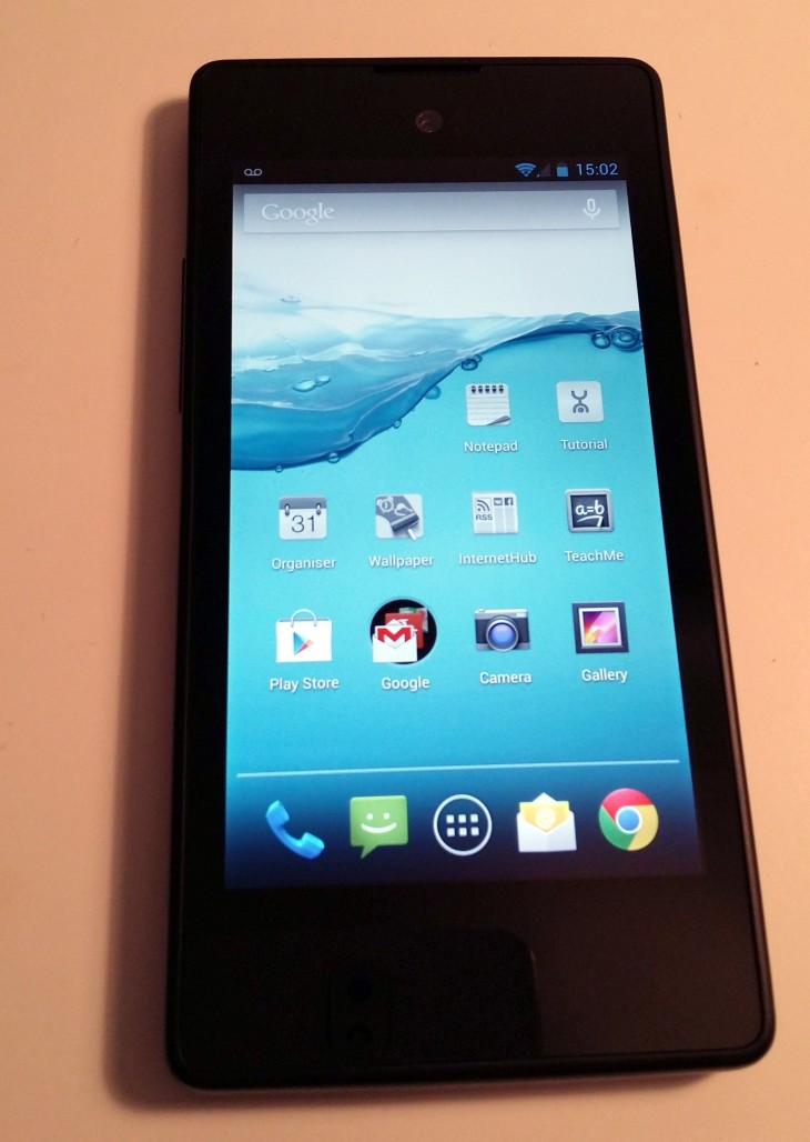 YP front 730x1028 Hands on with the dual screen YotaPhone, the rarest of Android handsets: a smartphone/e reader hybrid