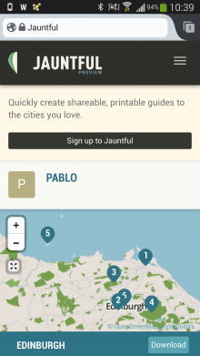 e3 220x391 Jauntful: An easy way to create and share personalized travel guides