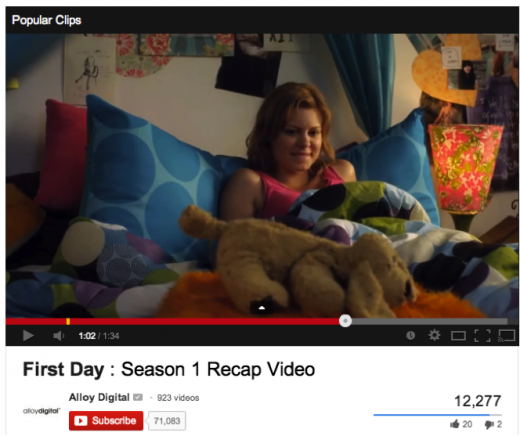 first day youtube kmart 520x436 Want to increase your brands relevancy? Partner up with tween YouTube stars