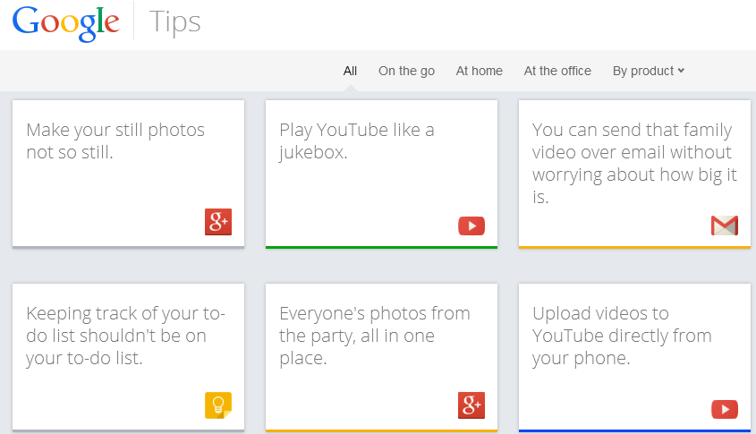 google tips Google launches Google Tips, a site to help you use its 13 consumer products